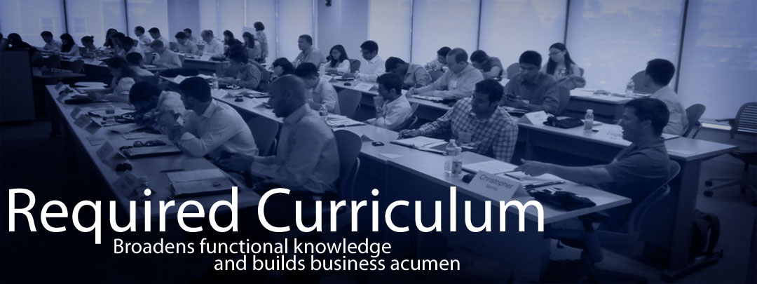 UConn MBA Required Curriculum