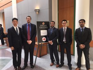 UConn MBA Team at the CIBER Case Competition