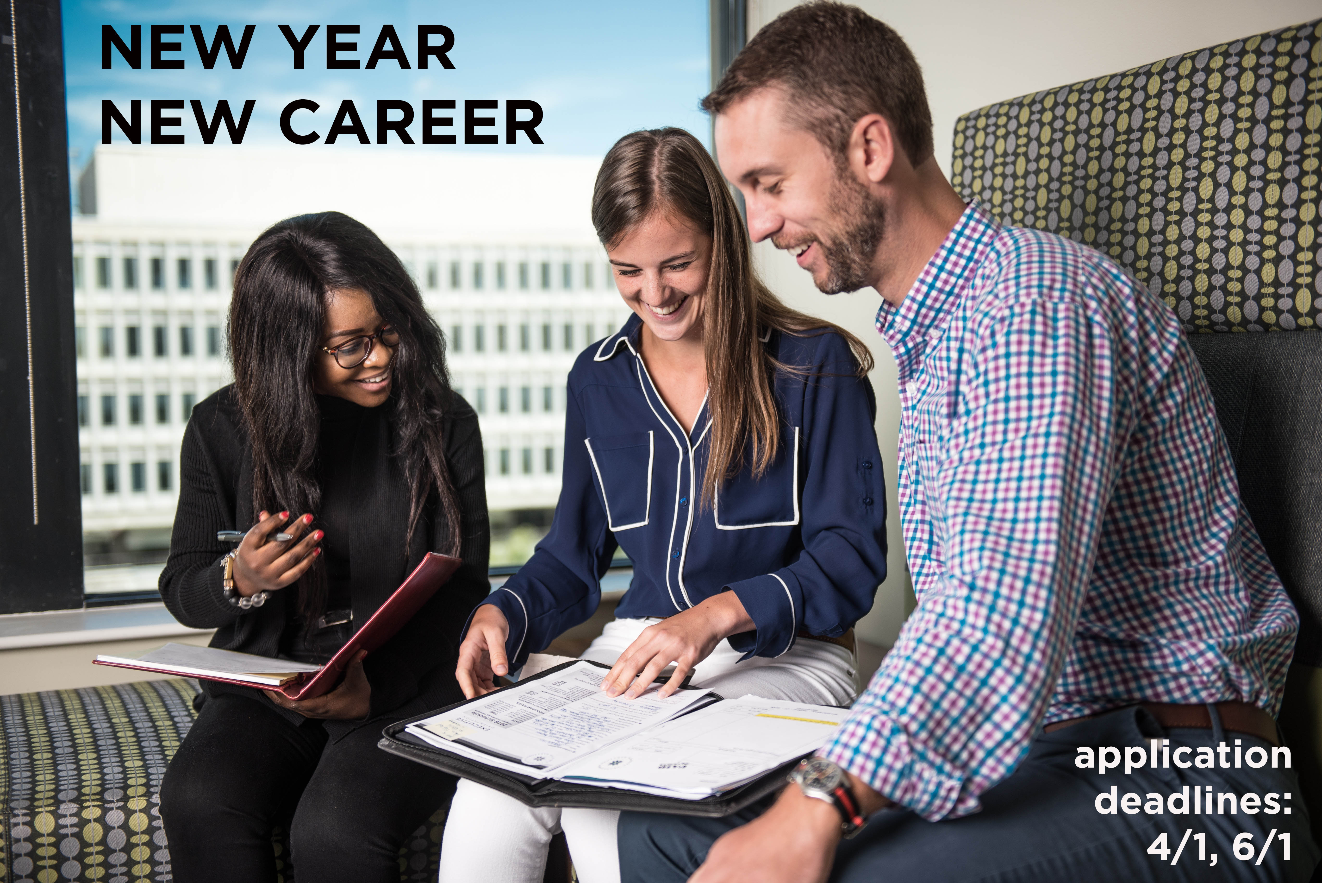 New Year, New Career, Apply Now